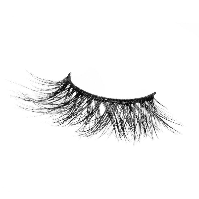 Super Cross Style 3D 100% Real Mink Eyelashes P123
