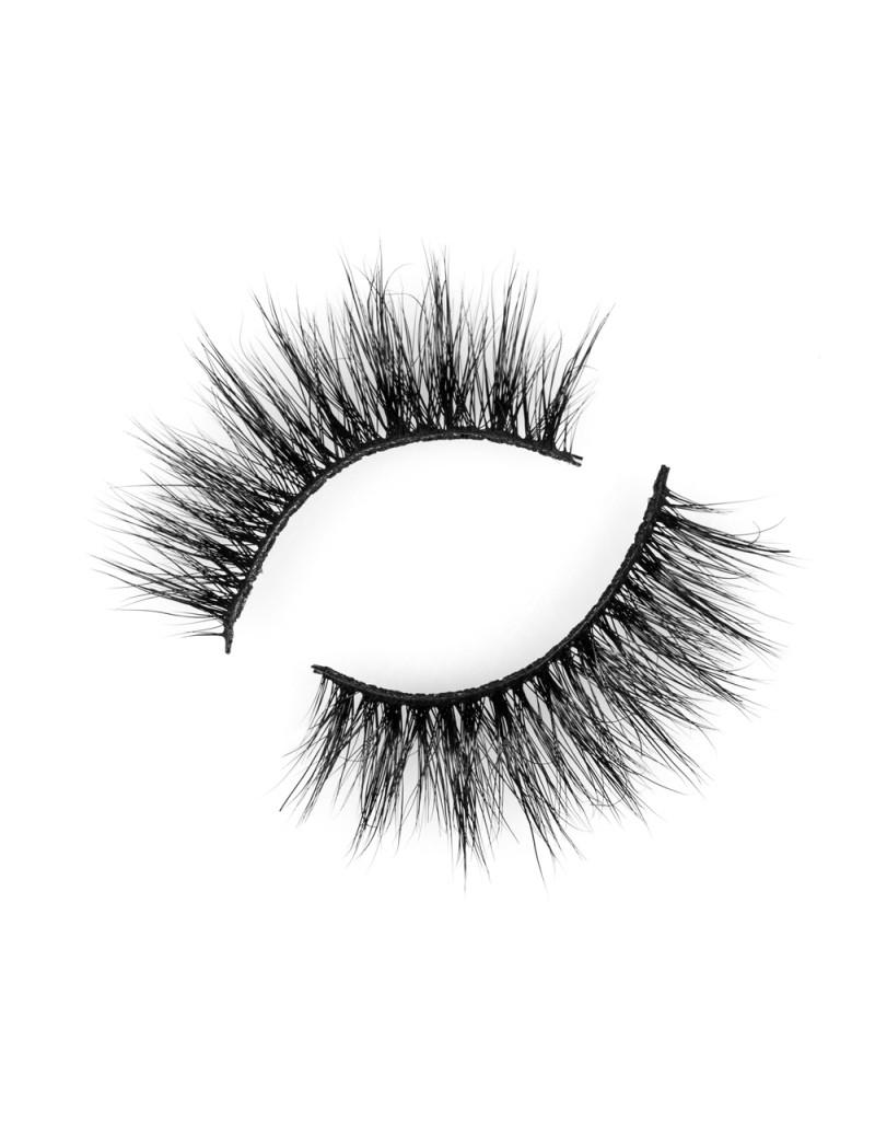 Natural Light Cross 100% 3D Real Mink Eyelash P124