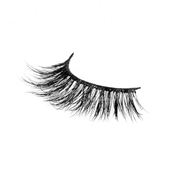 Natural Light Cross 100% 3D Real Mink Eyelash P124