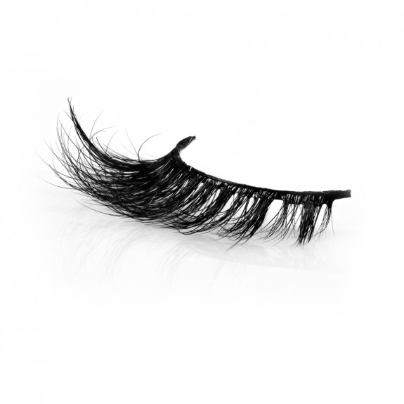 Luxurious Fluffy 3D Mink Fur False Lashes P151