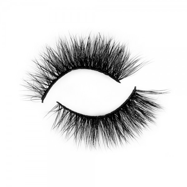 100% Natural Looking 3D Mink Fur Fake Eyelashes P152