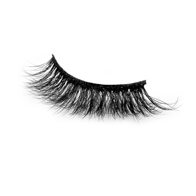 100% Natural Looking 3D Mink Fur Fake Eyelashes P152