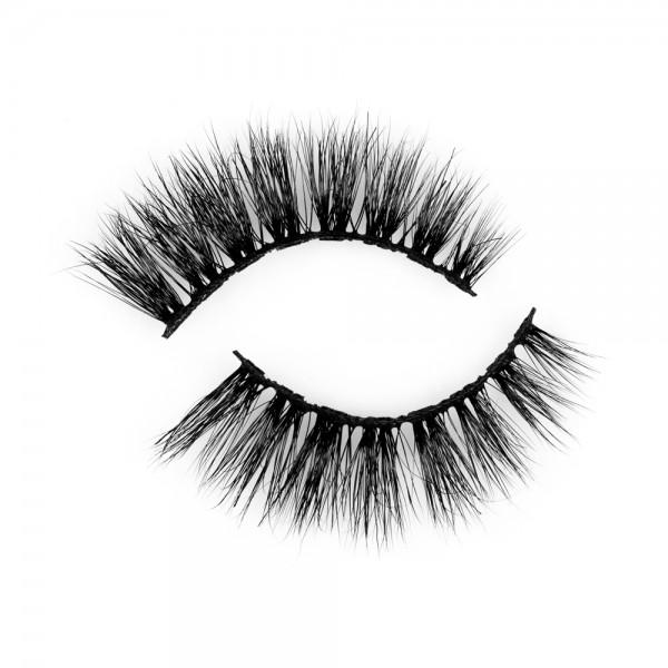 Long Last 100% Siberian Mink Hair Fluffy Eyelashes P156