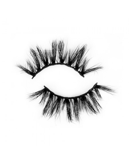Hot Selling Natural Long 100% Real Mink Eyelash P159