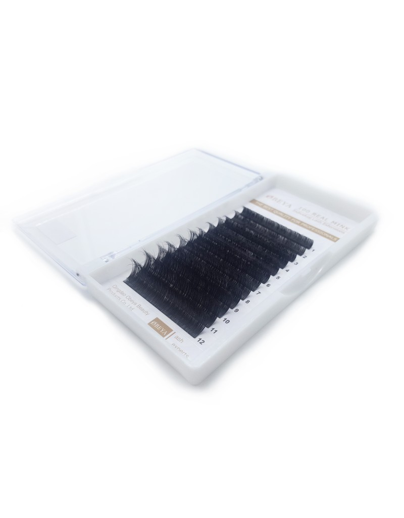 Trays Individual  Lashes Extension Natural Eyelashes Individual Lashes  Eyelash Extensions D Curl Mixed Length(8mm-15mm) wholesale vendors